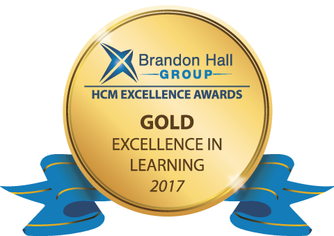Brandon Hall Gold Award 2017