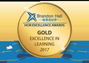 Brandon Hall Group Gold Excellence Award Winner 2017