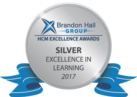 Brandon Hall Silver Award 2017