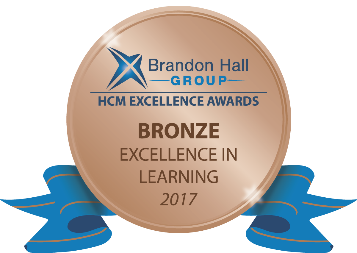 2017 Brandon Hall Bronze Award