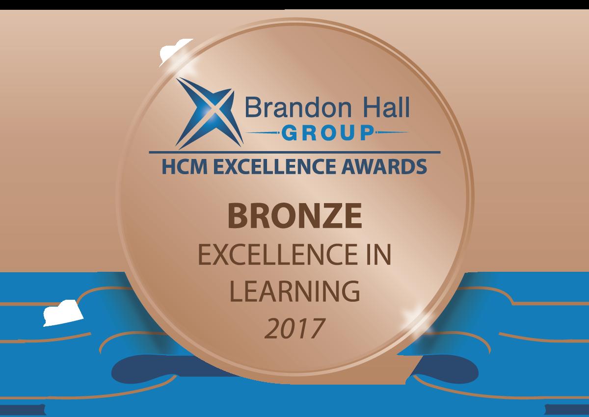 2017 Brandon Hall Bronze Award