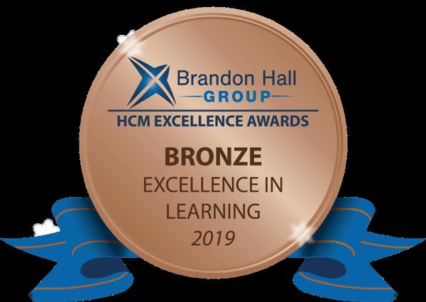 2019 Brandon Hall Bronze Award